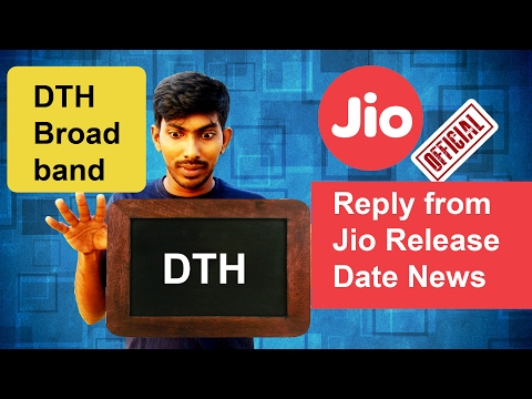 Jio DTH and Broadband Official launch date (Official Reply from Jio) - Tamil Techguruji