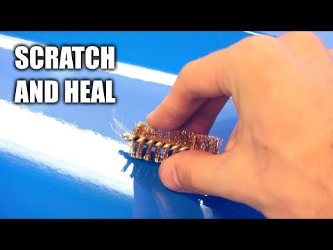 Scratching And Healing My Own Car - How Protective Films Work