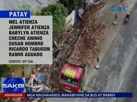 Saksi: Mga kaanak ng 7 nasawi sa aksidente sa Taal, Batangas, hustisya ang panawagan