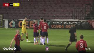York City 5-0 Pickering Town | North Riding Senior Cup