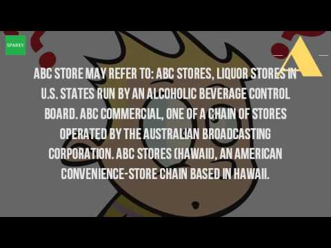 What Does The ABC Liquor Store Stand For