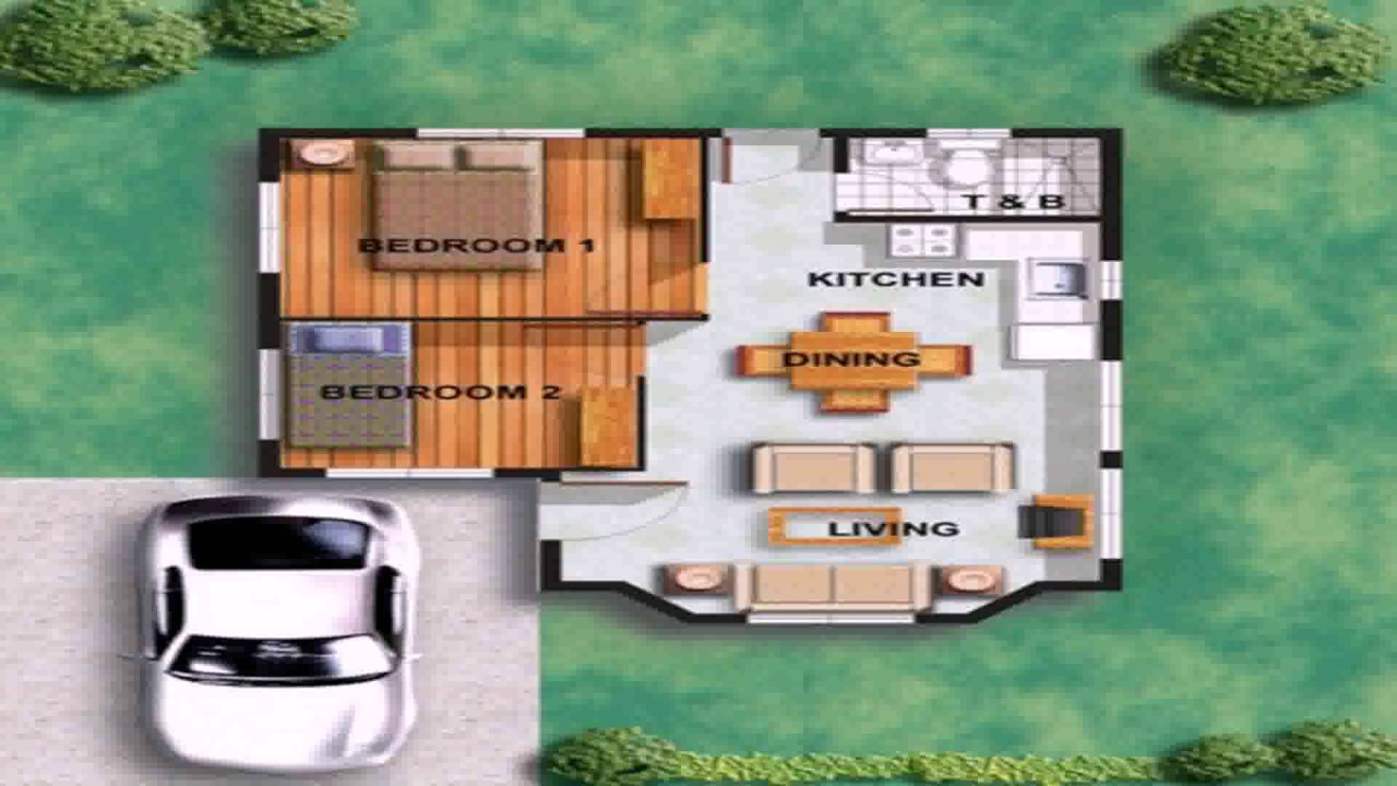 small house floor plan images youtube