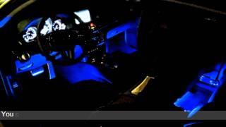 sound active 7 color rgb led car interior lighting kit part 2