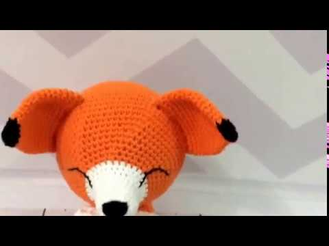 chaveiro de raposa/amigurumi no Elo7 | SJ AMIGURUMI (1026D6D) | 360x480
