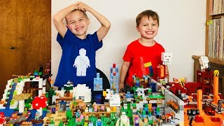 Adding to Our Huge Minecraft Lego From a Lego.com Purchase Haul