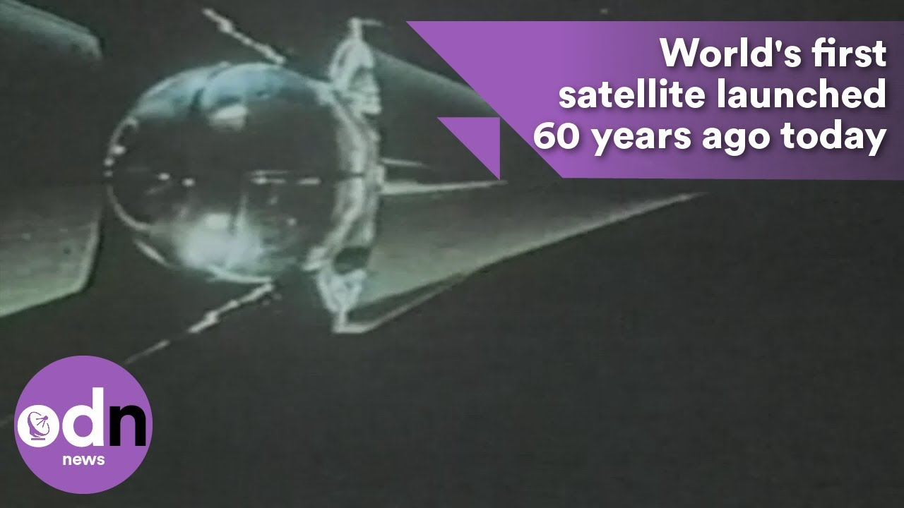 Worlds First Satellite Launched Years Ago Today YouTube - Today satellite image of world