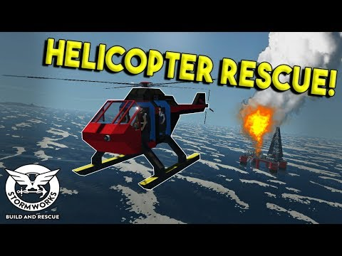 EPIC HELICOPTER RESCUE! - Stormworks: Build and Rescue Update Gameplay - EP 6