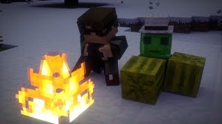 Minecraft Animation - RICH GUYS SHOULDN'T GO CAMPING