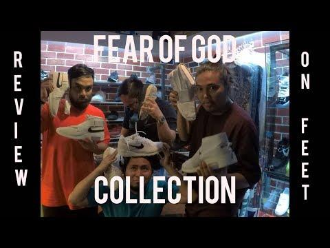 CRAZY!!! NIKE X FEAR OF GOD RAID , MOCCASIN & SKYLON 2 ( REVIEWS & ONFEET )