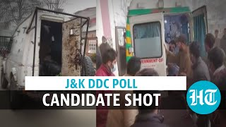 Watch: Shooting in J&K on voting day, DDC candidate injured; Omar condemns