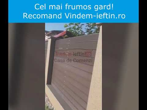 WPC - Gard - Casa de Comenzi - Vindem-ieftin.ro
