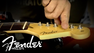 How to Install a Fender String Guide | Fender