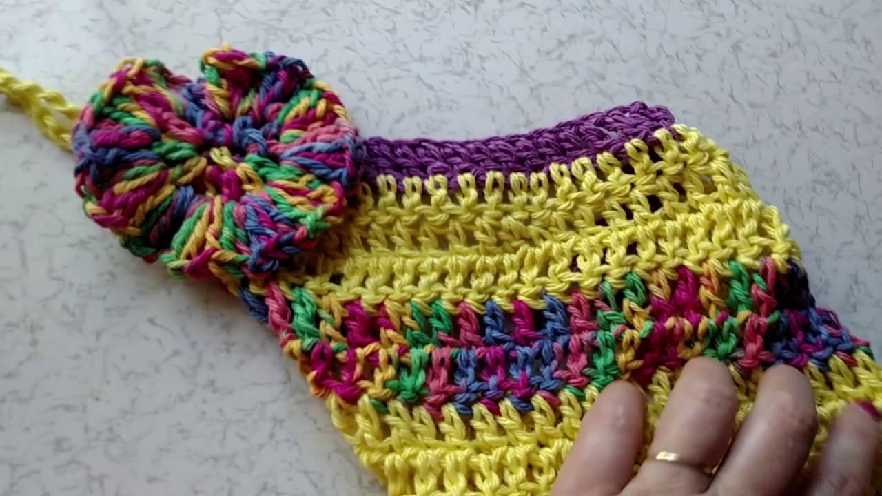 #Crochet dish towel