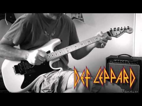 Def Leppard - Let's Get Rocked Guitar Cover