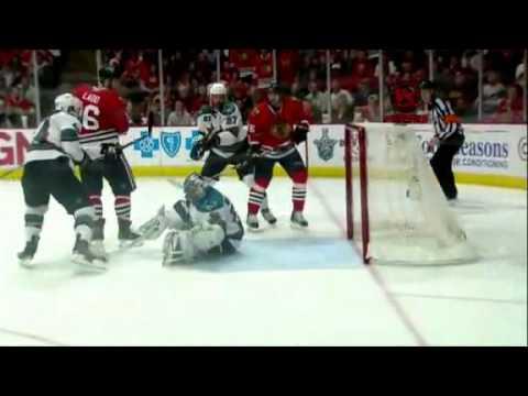San Jose Sharks VS Chicago BlackHawks Game 3 Stanley Cup Playoffs 2009 - 2010
