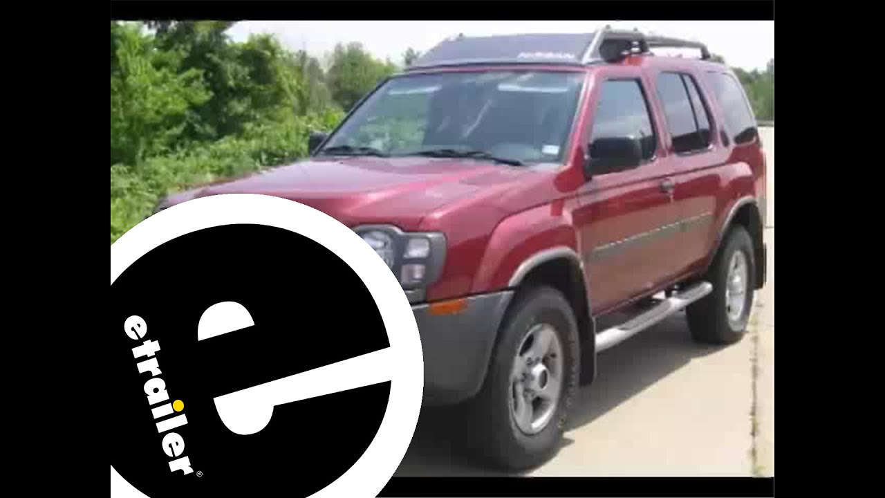 hight resolution of trailer wiring harness installation 2004 nissan xterra etrailer com