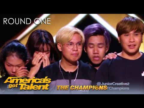 Junior Creative: Myanmar's Got Talent Winners WOW America With Touching Act | AGT Champions 2020