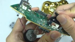 HOW TO INSTALLATION TRANSFORM D-PAD FULL GOLD WIRELESS CONTROLLER SHELL FOR XBOX 360