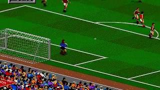 FIFA Soccer 95 AC Milan vs Inter Milan Sega Genesis / Mega Drive