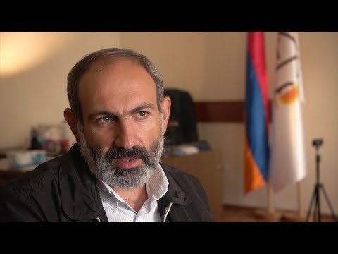 Exclusive CGTN interview with Armenian opposition leader Pashinyan
