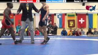 59 KG QF - Spenser Mango (USA) vs Haitham Mahmoud Ahmed (EGY)