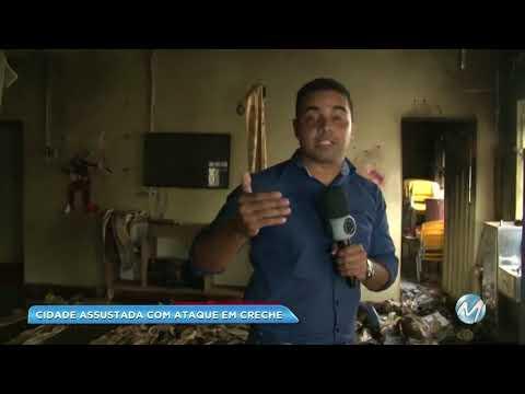Tragédia em creche de Janaúba deixou população abalada e pessoas se mobilizaram para ajudar
