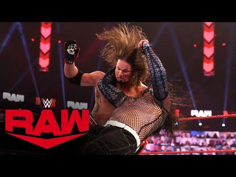 Jeff Hardy vs. AJ Styles: Raw, Feb. 8, 2021