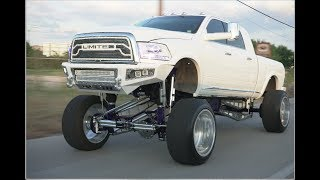 Video MOST CUSTOM LIFTED TRUCK FULLY ENGRAVED 25 inch lift kit on bags with 26x16s download MP3, 3GP, MP4, WEBM, AVI, FLV Juli 2018