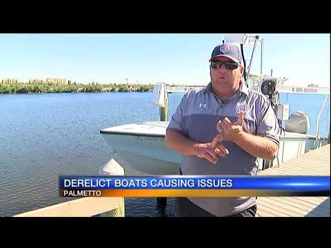 Derelict boats causing big issues on Manatee River