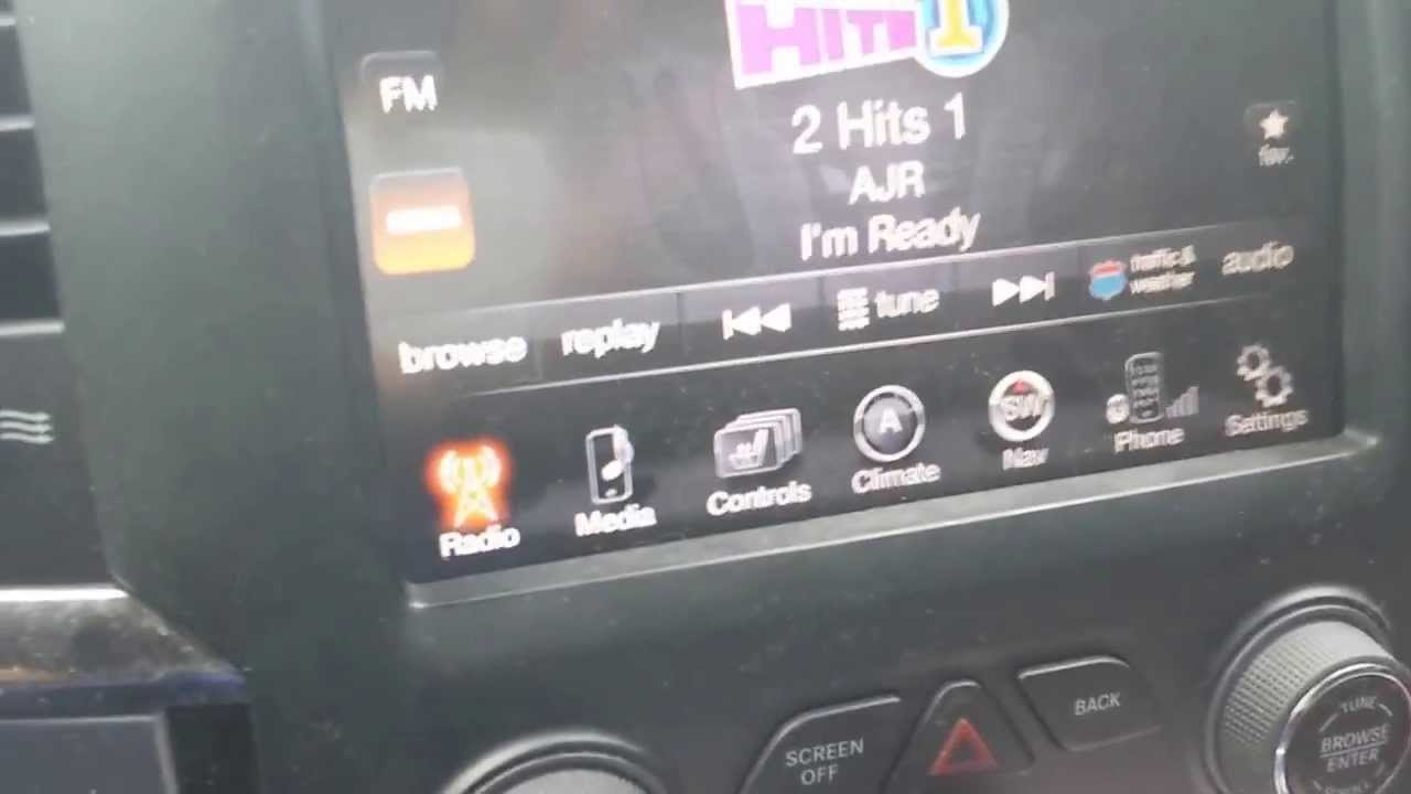 2013 ram radio problems [ 1280 x 720 Pixel ]