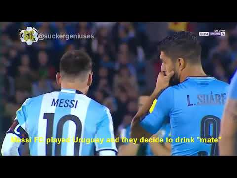 South America World Cup Qualifier Highlights - Brazil/Ecuador/Argentina/Uruguay...