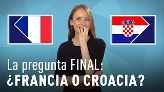 ¿Francia o Croacia? ¿Quién será el campeón del Mundial Rusia 2018?