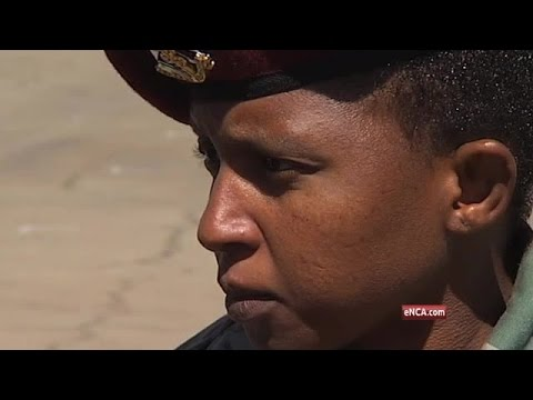 South African National Defence Force honours its women serving on the frontline.
