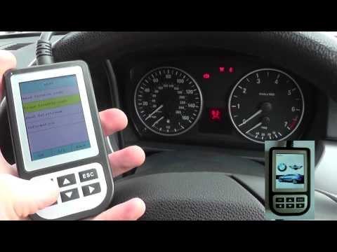 BMW 1 Series Airbag Diagnose & Reset E81 E82 E87 E88 C110 Scanner