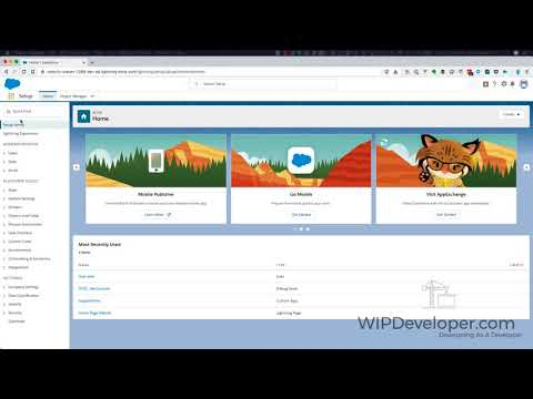 LWC – First Look – First Component - WIPDeveloper com