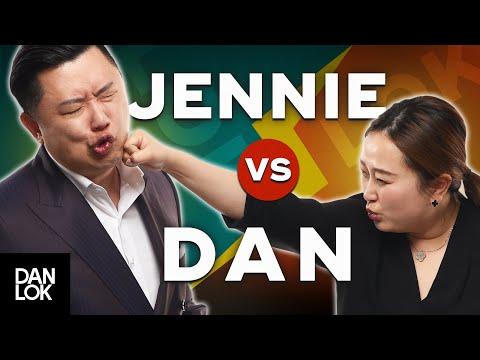 Jennie Lok ROASTS Dan Lok On Stage