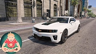 ✪ GTA 6 Graphics - Natural Vision 2.0 - Chevrolet Camaro ZL1! Realistic Graphics MOD PC 1080p60 FPS!