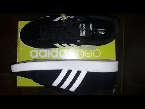 Adidas Neo CF ADVANTAGE Shoes For Men  (Black) Unboxing