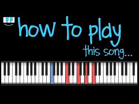 PianistAko tutorial WAG KA NANG UMIYAK piano kz tandingan