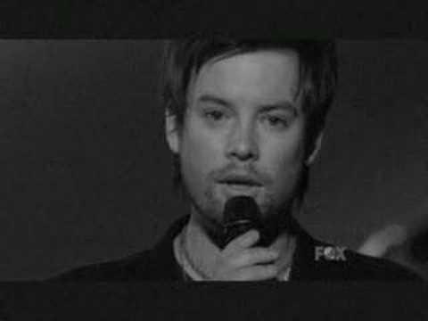 David Cook Music of the night - Studio version - Music video