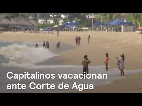Capitalinos huyen de la CDMX a Acapulco por Mega Corte de Agua - Noticias con Julio Patán