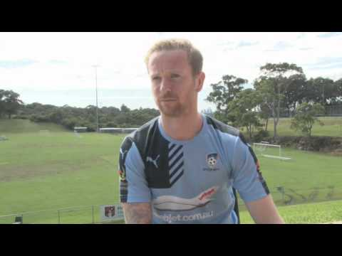 Exclusive First Interview With David Carney | Player Interviews | Sydney FC