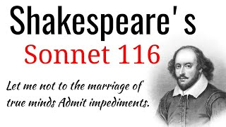 Скачать Shakespeare S Sonnet 116 Let Me Not To The Marriage Of True Minds Admit Impediments In Hindi