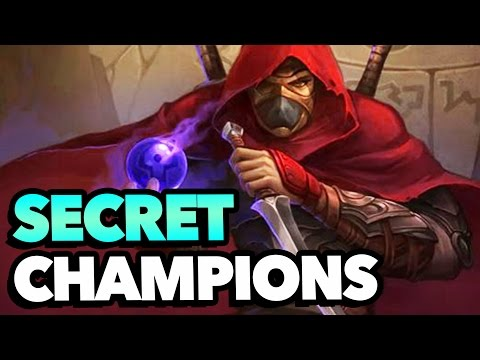 5 SECRET CHAMPIONS That Didnt Make It Into League of Legends