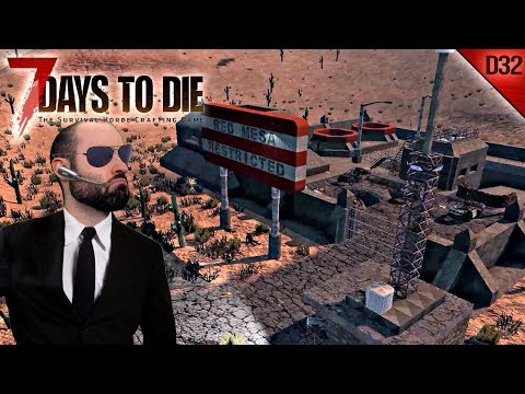 7 DAYS TO DIE #D32 | EL ÁREA RESTRINGIDA | Gameplay Español