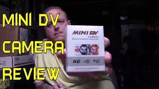 Mini DV Camera Review