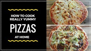 My Saturday Lunch Routine | Home made Vegetarian Pizza | Will beat Dominos & Pizza Hut
