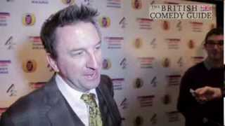 Lee Mack loves David Mitchell - British Comedy Awards 2013