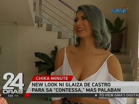 """24 Oras: New look ni Glaiza De Castro para sa """"Contessa,"""" mas palaban"""