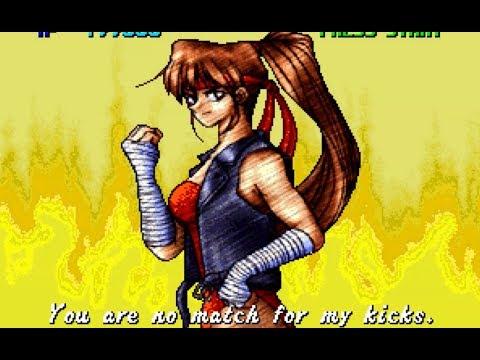 lets play breakers revenge Tia (Neo Geo arcade) HD